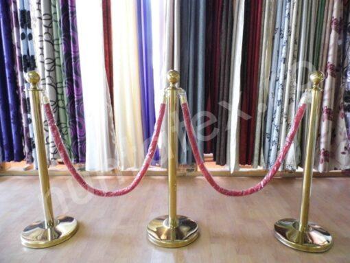 Stalpi decor cu cordon
