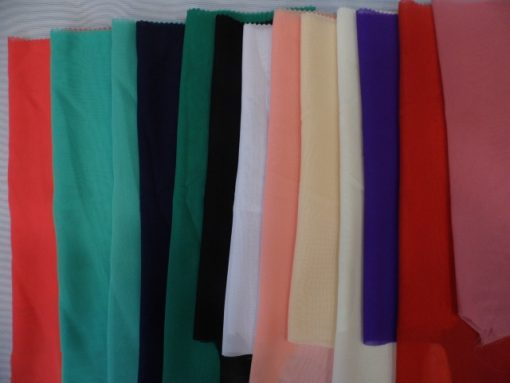 Material voal chiffon online