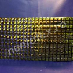 Rola accesoriu auriu din plastic