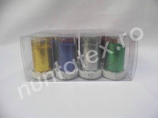 Sclipici colorat decorativ