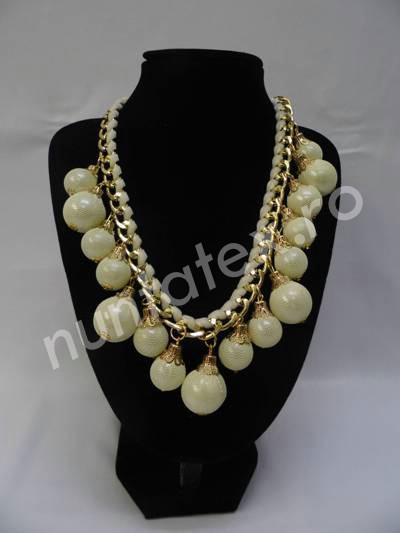 Guler cu pietre si perle