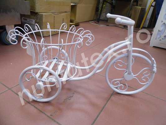 Tricicleta din metal decorativa