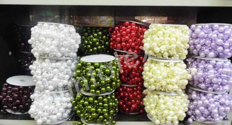 Sirag de perle decorativ