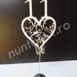 Suport place card fluture decor