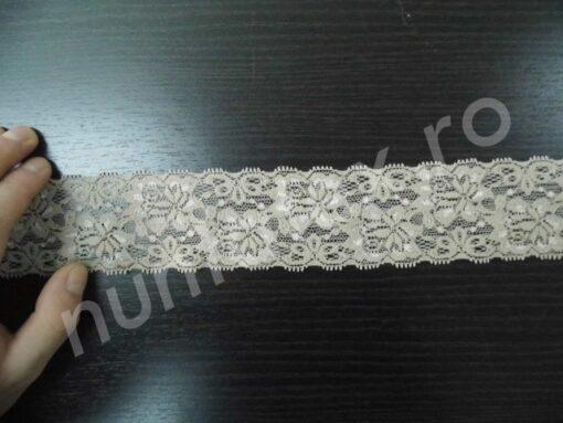 Banda dantela medie elastica