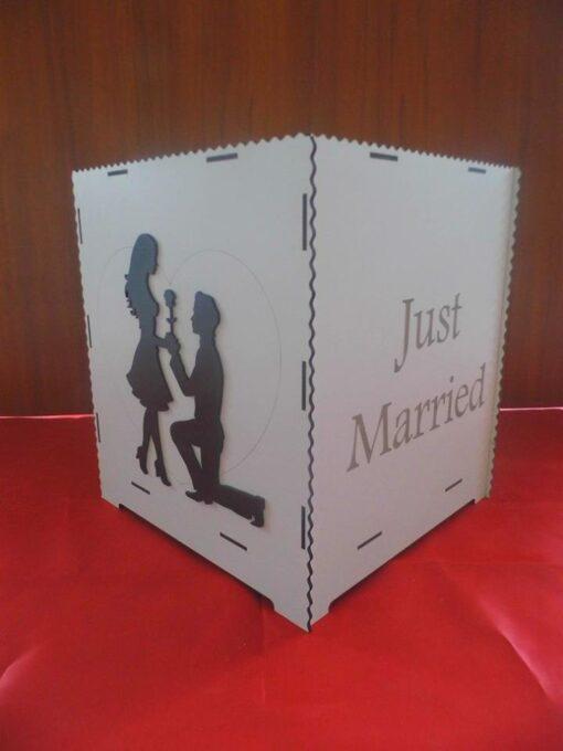 Cutie de dar pentru nunta