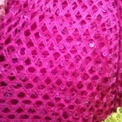 dantela cu paiete roz