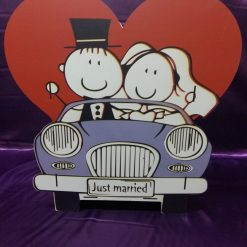 Casuta de dar Just Married