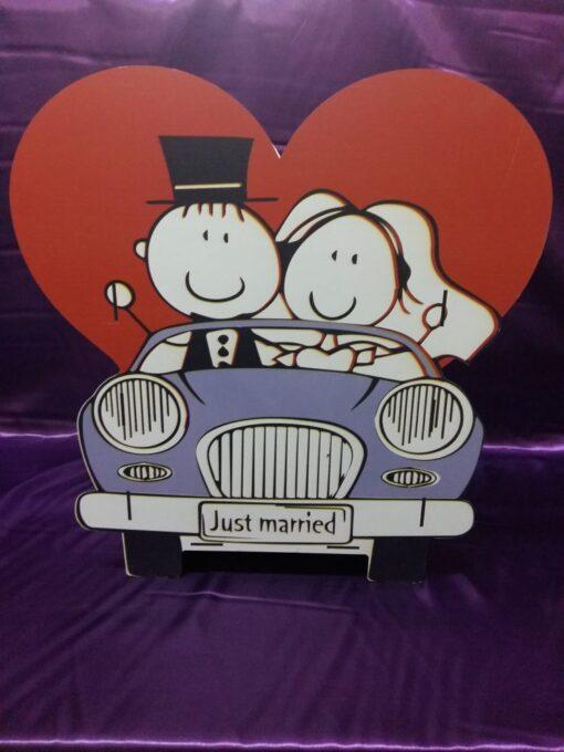 Casuta de dar Just Married