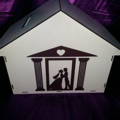 cutie bani nunta ieftina