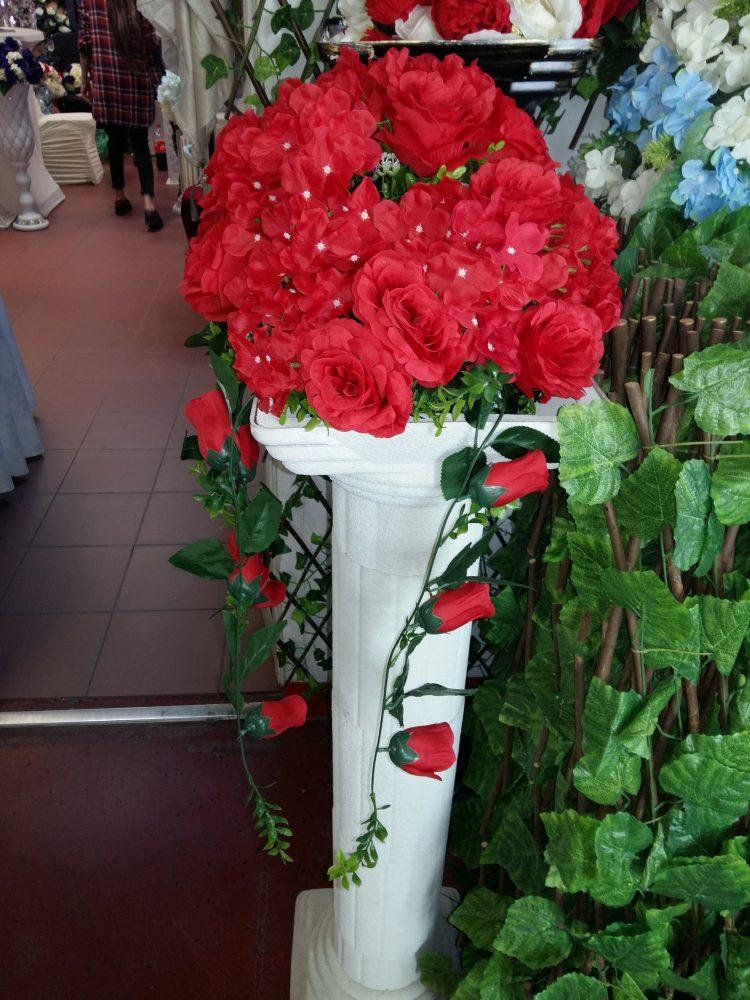 Aranjamente florale artificiale nunti pret