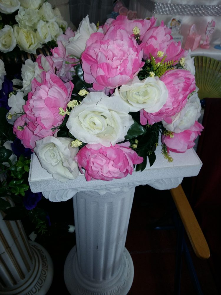 aranjamente florale artificiale nunti