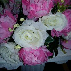 aranjamente florale artificiale nunta pret
