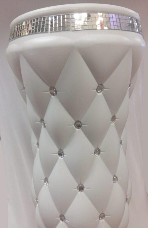 ghivece decorative albe
