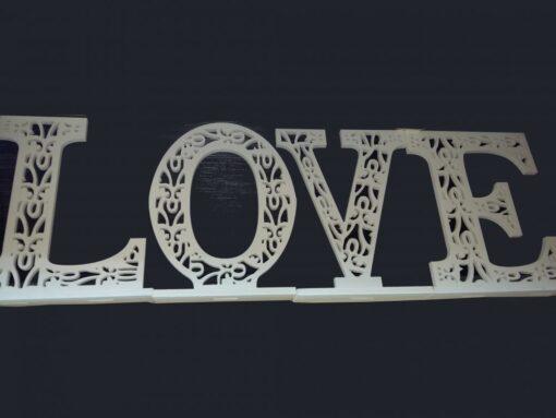 Decor online nunta LOVE