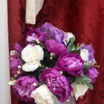 aranjament floral artificial