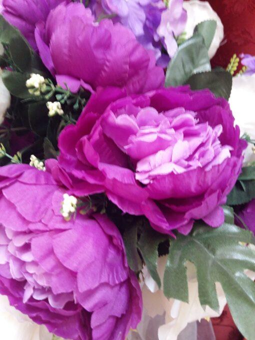 aranjament floral artificial pret