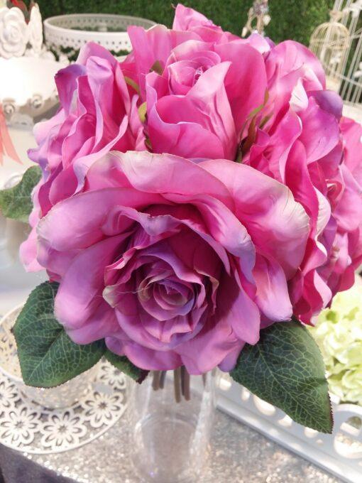 trandafiri artificiali pret