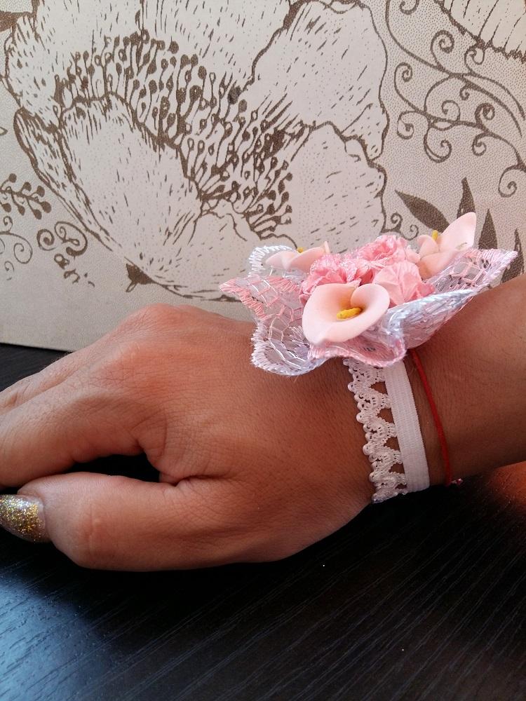 corsaje nunta artificiale