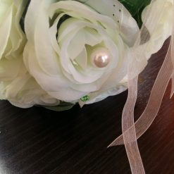 aranjament floral artificial nunta
