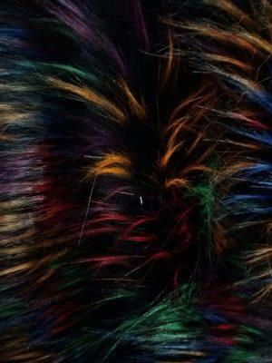 Blana artificiala colorata ieftina