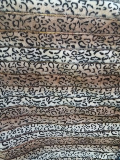 Blana imprimeu leopard la metru