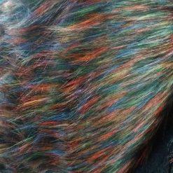Blana sintetica colorata