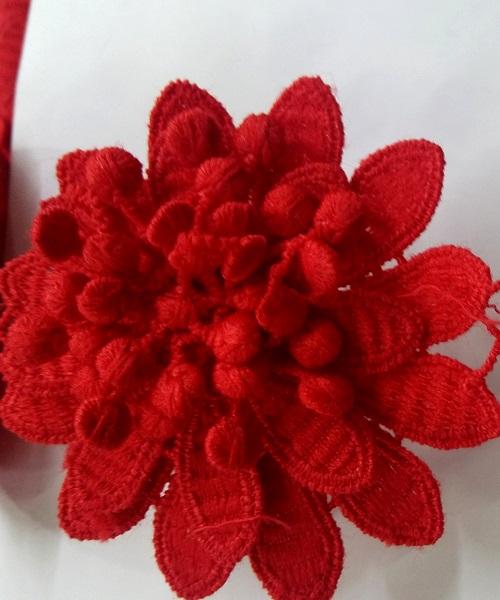 Banda decorativa flori 3d