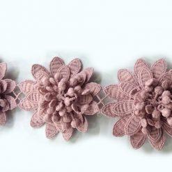 Benzi decorative cu flori metraj
