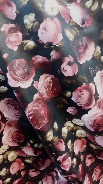 Imitatie piele model floral