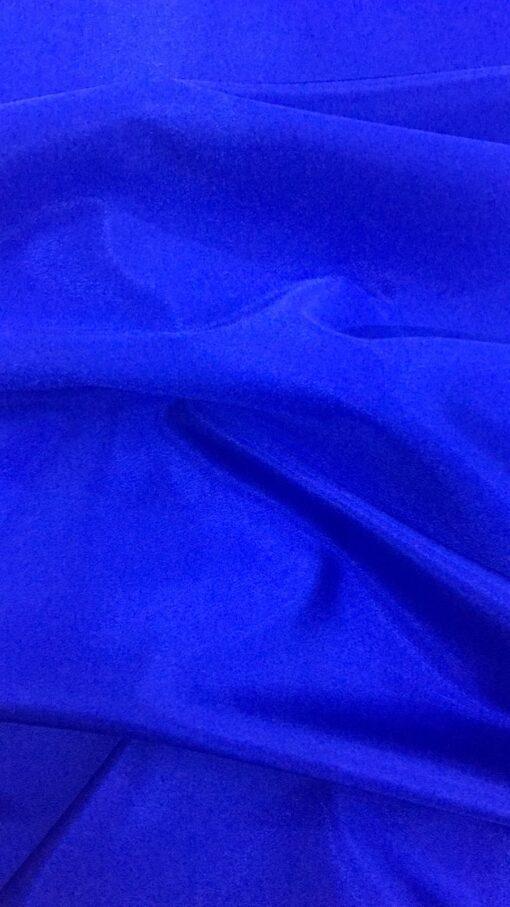 Saten elastic albastru