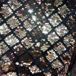 Catifea cu paiete la metru