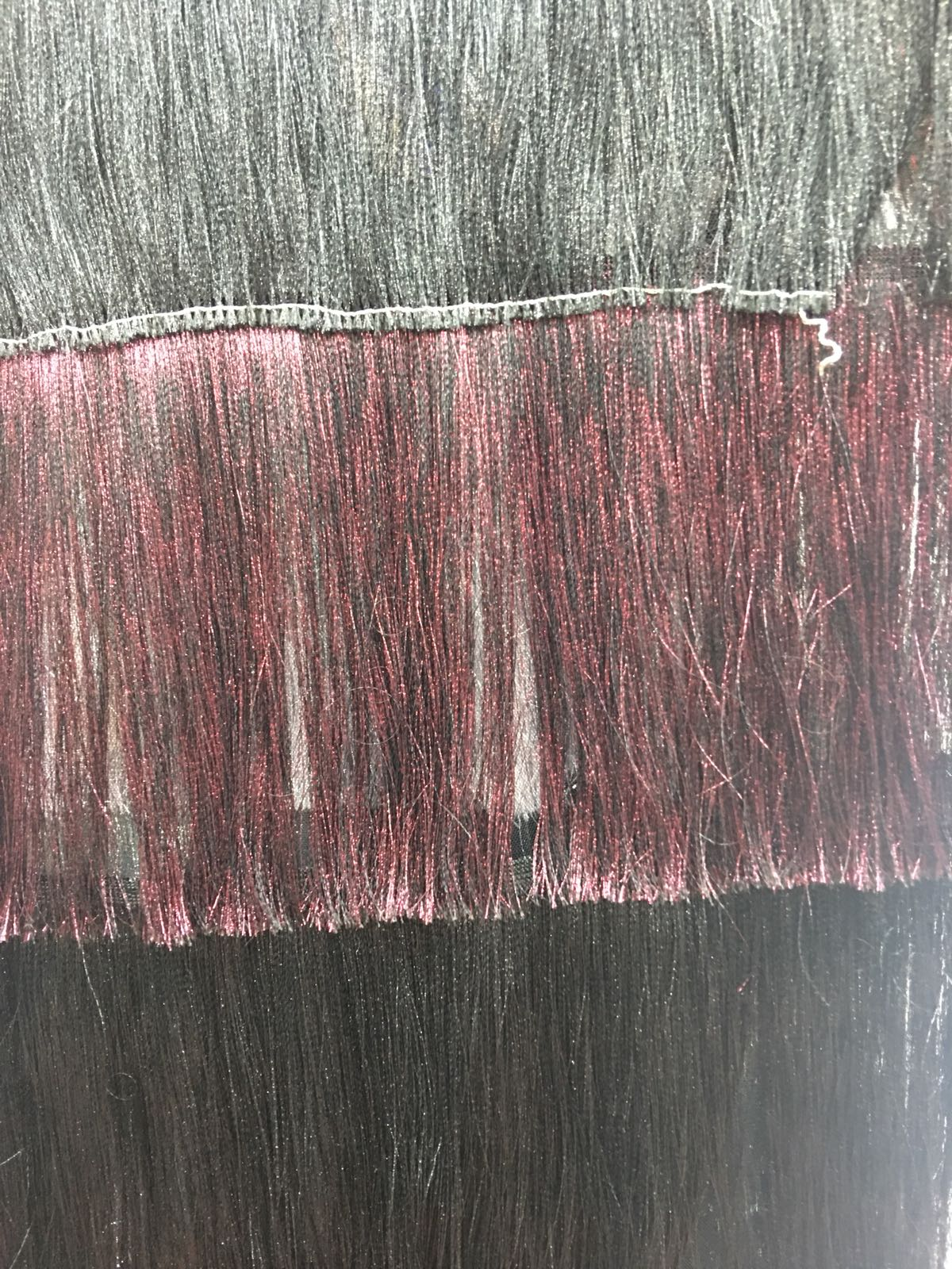 Tiul cu franjuri pentru rochii la metru