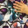 Vascoza elastica material textil
