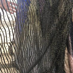 Material textil cu sclipici