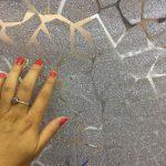 Tiul cu sclipici la metru de vanzare