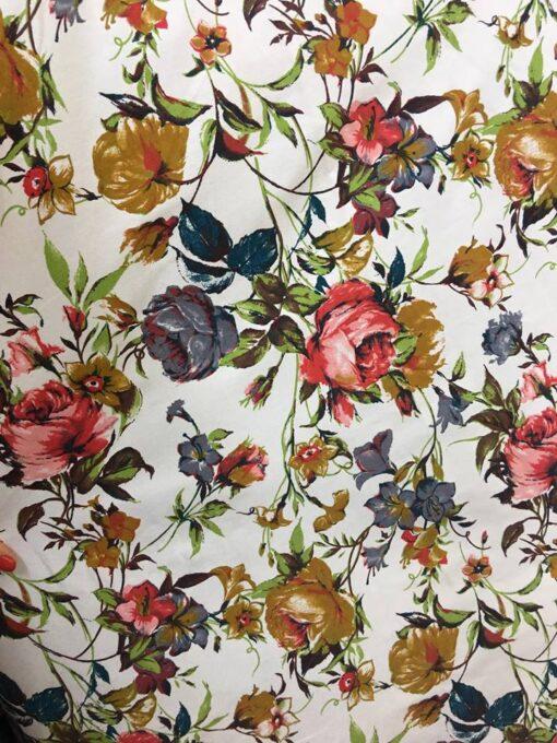Material textil tercot imprimat
