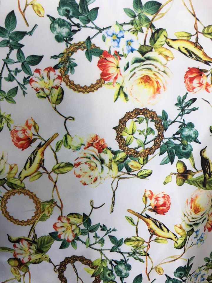 Material textil scafandru imprimat