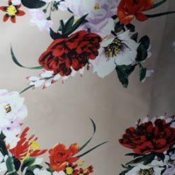 Tafta imprimata rochii