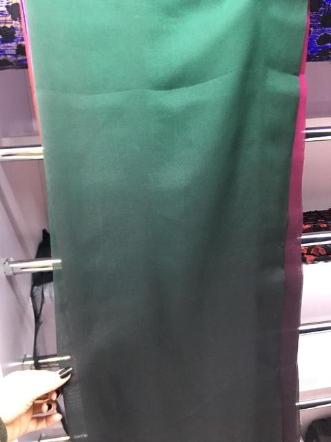 Voal verde in degrade