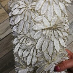 Banda floare mare brodata