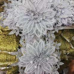 Aplicatie floare dantela