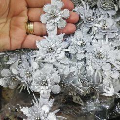 Banda flori imitatie piele