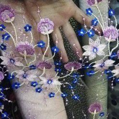 Broderie cu flori