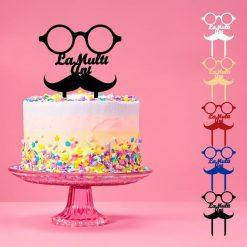 Accesoriu tort model ochelari