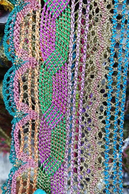 Banda fir lame colorata