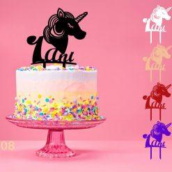 Cake topper 1 an
