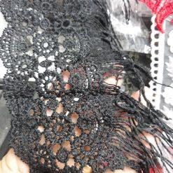Aplicatie banda brodata rochii