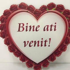 Pancarta inima pentru nunta