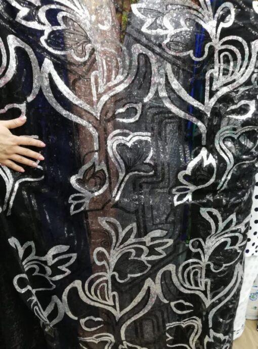 Material cu micropaiete rochii